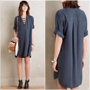 Cloth and Stone navy dress. In good condition.